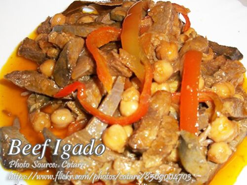 Beef Igado Igadong Baka Panlasang Pinoy Meaty Recipes Recipe Best Beef Recipes Food Dishes Beef Dishes