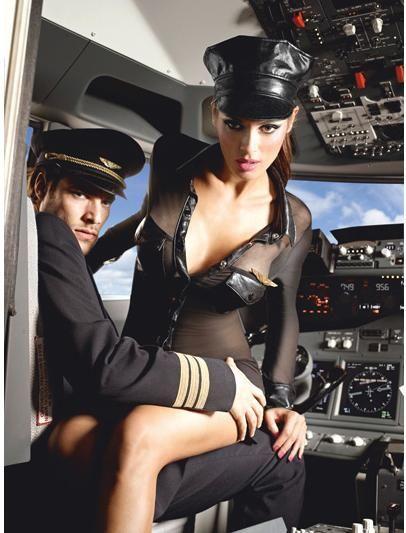 Hot flight attendant girls