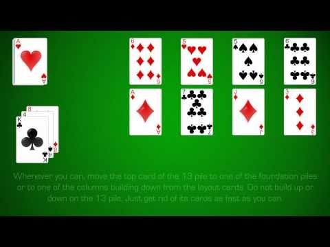 Learn How To Play Canfield Solitaire This In Depth Guide And Video Will Show You Exactly How To Play Ca One Player Card Games Solitaire Card Game Player Card