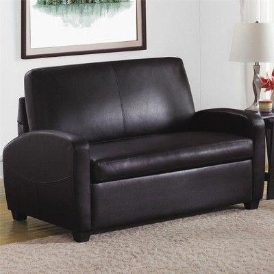 Dallas Sofa Sleeper Black Dorel Living Adult Unisex Sleeper Sofa Leather Sofa Bed Sofa Bed Sleeper