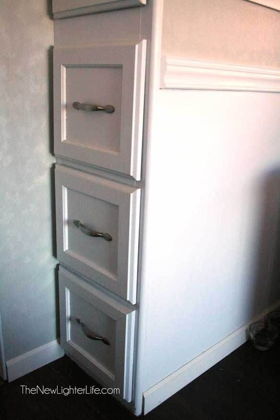 How to Paint RV Cabinets ~ Without Sanding or Primer | Love this ...
