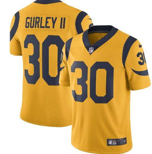 Todd Gurley Jerseys Los Angeles Rams Jerseys Gridiron Fanatic Todd Gurley Los Angeles Rams Gridiron