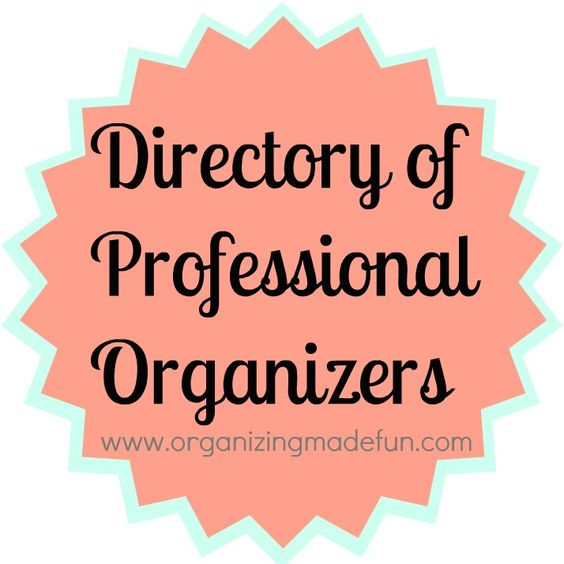 Directory of professional organizers in your Area