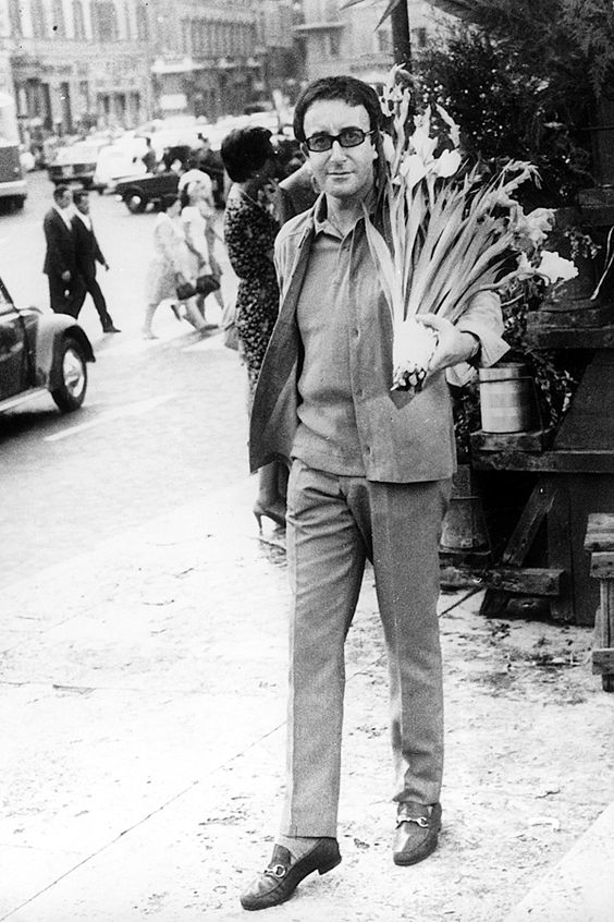 From the Archive: Peter Sellers wearing the Gucci Horsebit Loafer, 1966