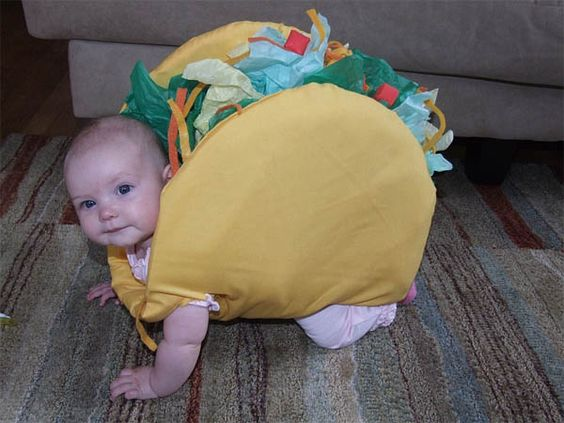LOL LOL LOL! I Wish I would have seen this last year!!! If we have another baby, THIS WILL be it's costume! XD