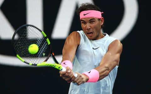 Rafael Nadal Hammers Victor Estrella Burgos To Start Australian Open 2018 In Style Rafael Nadal Australian Open Burgos