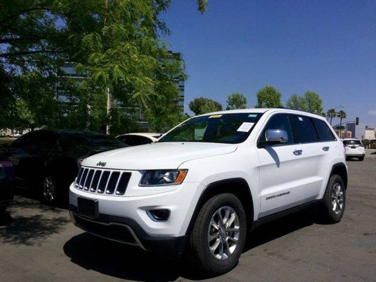 Sport Utility 2016 Jeep Grand Cherokee 2wd Limited With 4 Door In
