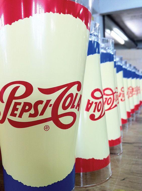 พิมพ์สกรีน | แก้วน้ำพลาสติก | เป๊ปซี่ | Screen Print | Plastic Cup | Pepsi
