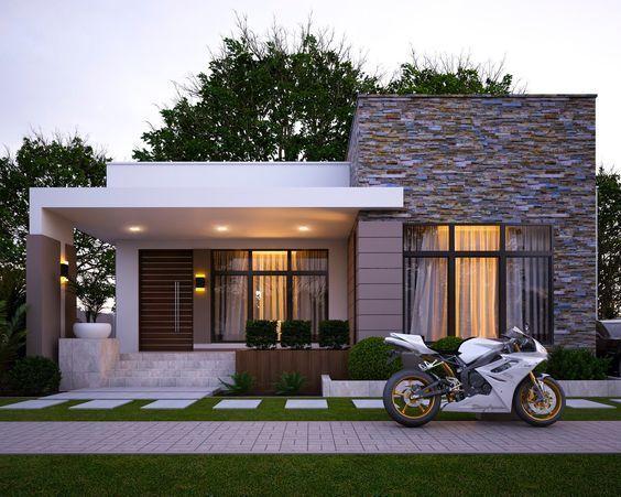 Dise Os De Fachadas Casas Modernas Treinta Y Ocho C3 B1os