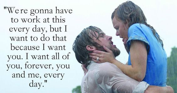 The 30 most romantic movie quotes ever! Can you handle it? See the full list here.