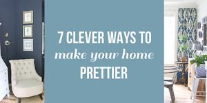 It seems pretty logical, doesn't it? If you buy pretty things, your home will be pretty. But actually, filling your home with pretty things won't necessarily make your home feel prettier to you. Too much...