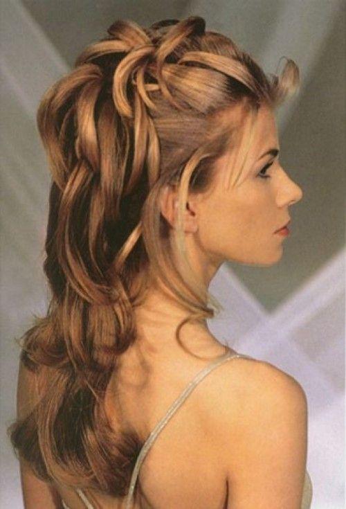 Molto Oltre 25 fantastiche idee su Acconciature capelli semi raccolti  ON09