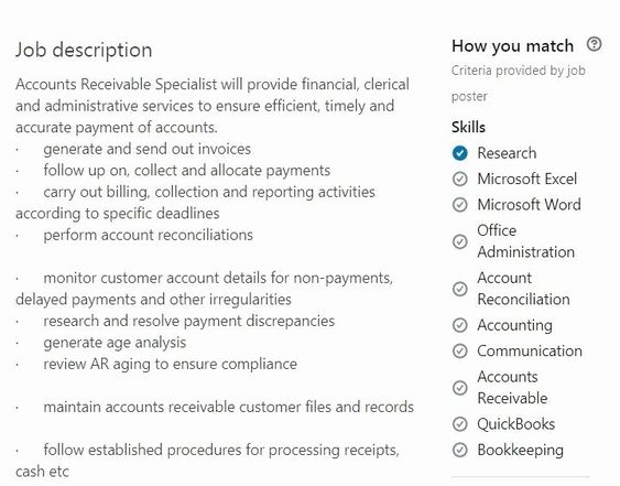 Best Accounts Receivable Clerk Resume Example Livecareer Job Resume Samples Resume Objective Examples Good Resume Examples