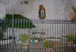 """Encarnación Gullo. """" Valla ruta Virgen de Lourdes"""", Granada - www.vinuesavallasycercados.com"""