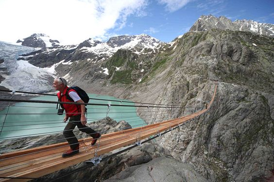 Trift Lake, Switzerland