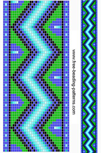 Stitches Bead Loom Patterns And Charts On Pinterest
