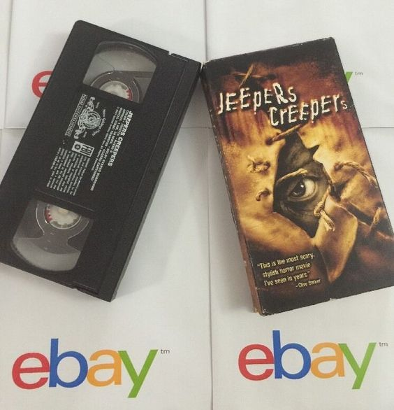 VHS Jeepers Creeepers Scary Horror Movie R 2001 UA Films Gina Phillips Jus Long 027616869746 | eBay