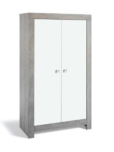 Schardt Wardrobe Nordic Driftwood with 2 Doors (Grey): Amazon.co.uk: Kitchen & Home