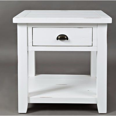 Mistana Jalynn End Table With Storage End Tables End Tables
