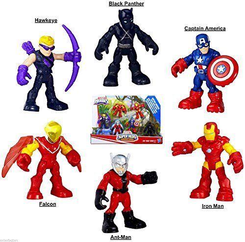 """2.5/"""" HAWKEYE PlaySkool Heroes Marvel Super Jungle Squad Adventures Figure toy"""