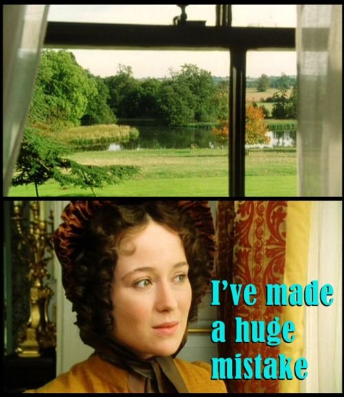 Lizzie sees Pemberley for the first time