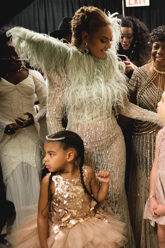 Beyoncé & Blue Ivy MTV Video Music Awards at Madison Square Garden New York City New York 28th August 2016