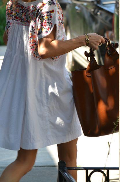 love the dress & the bag