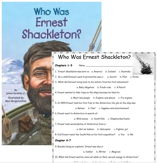 Biography short stories with multiple choice worksheets ...