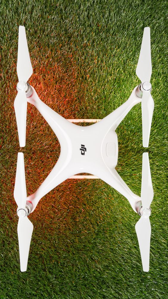 The DJI Phantom 4 Drone - the latest high end drone from the DJI stable.