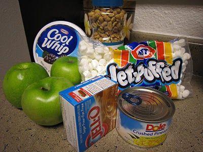 Caramel Apple Salad 3 Weight Watchers Points :)