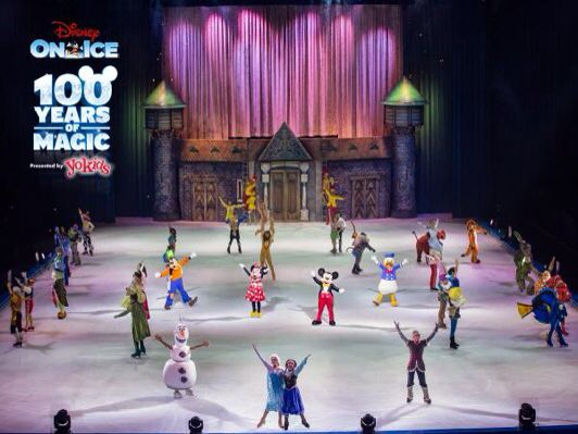Buy Disney On Ice celebrates Years of Magic tickets at the Fiserv Forum in Milwaukee, WI for Feb 16, AM at Ticketmaster.