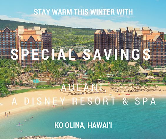 Stay Warm this Winter with Savings at Aulani, A Disney Resort & Spa