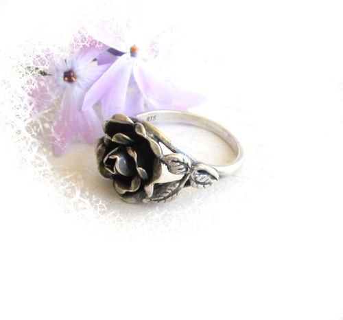 Jugendstil Ring in Silber