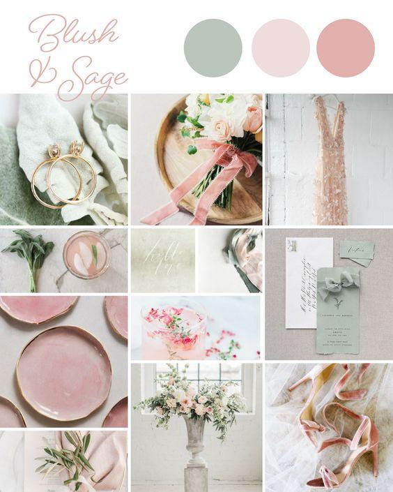 mood board nunta eleganta simpla pasteluri
