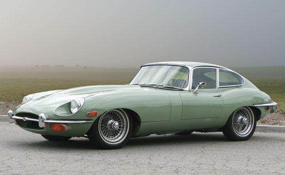 1969 Jaguar E Type Series II 4.2 Liter Fixed Head Coupe