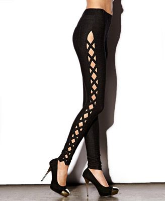Cut Out Leggings Forever 21