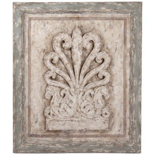 Vintage Chateau Wall Plaque Wall Plaques Stone Wall Art Rustic French Country
