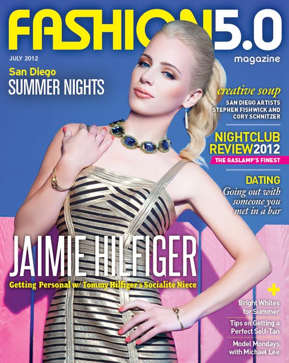 Jaimie Hilfiger: Igal Dahan, Fashion Magazines, Jaimie Hilfiger Press