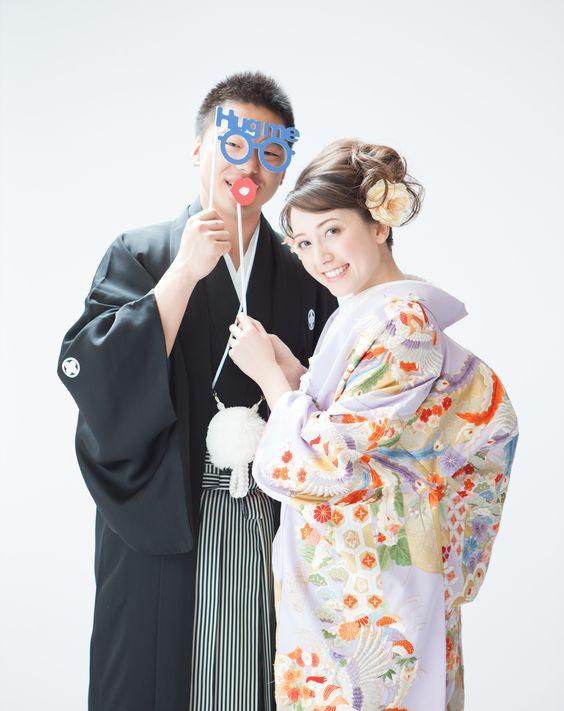 スタジオフォト_色打掛_紋付 just married