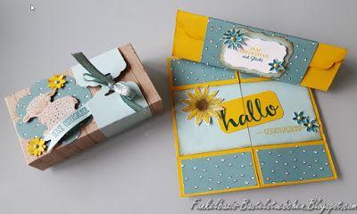 Endloskarte, Verpackung, Triangelbox, Box Card, Karte, Endless card, Triangelbox, triangular box, Geburtstag, Birthday, gift, stampin up, Easter lamb, Easter, Ostern, Dankeschön