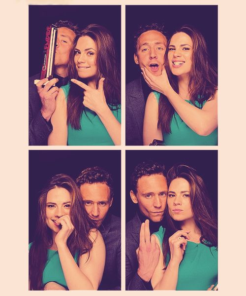 Tom Hiddleston, Hayley Atwell. They'd be so much cuter together than Tom and Taylor