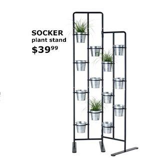 Ikea Socker Plant Stand Gardening Pinterest