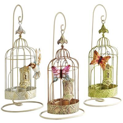 Got to have!~ Birdcage Tealight Holders