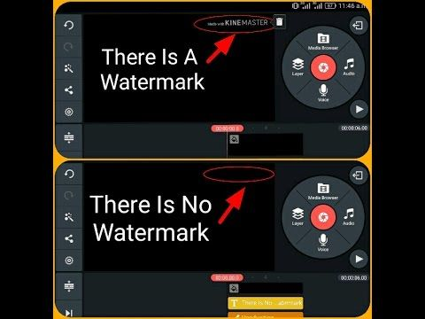 Kinemaster Watermark Remove Without Root Free Youtube How To Remove Chroma Key Watermark