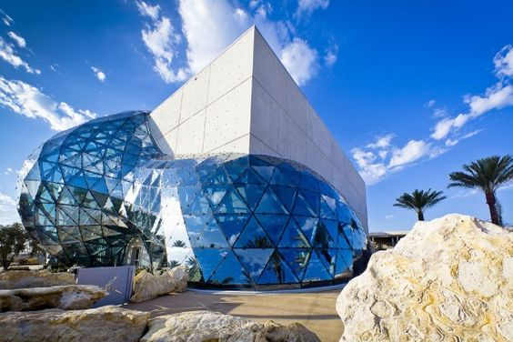Salvador Dali Museum   St. Petersburg Florida -- houses the largest collection of Dali masterworks in the world!