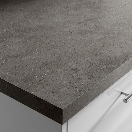 Lava Rock Corian Worktop | Benchmarx Kitchens & Joinery