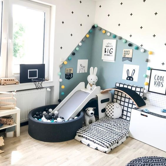 Children S Room Home Decoration Small Room Wall Painting Home