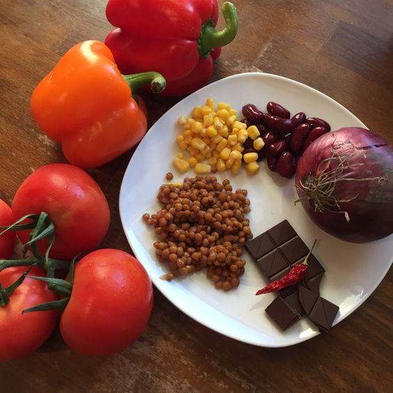 Chili sin carne Rezept zum Selbermachen - Familienrezepte zum Nachkochen.