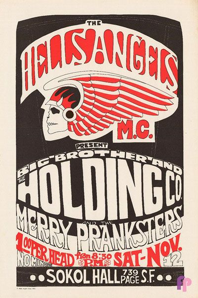 Big Brother and the Holding Company at Sokol Hall 11/12/66 by Gut