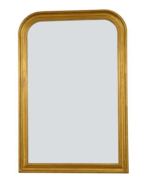 Fm103 Gold Louis Philippe Wall Mirror Wooden Mirror Frame Mirror Wall Mirror